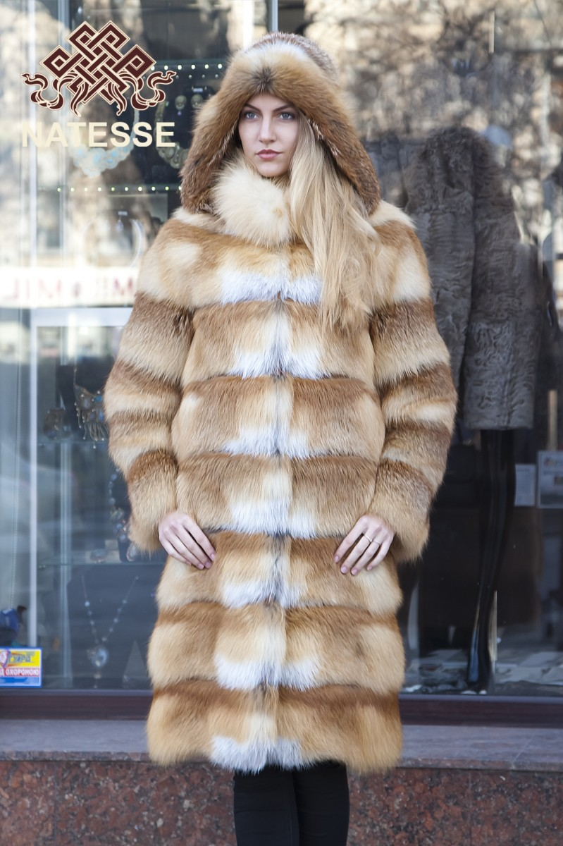 4ba6d55fa Red Fox Jacket Vollbracht Furs Cleveland And Akron Ohio