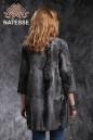 Пальто из серебристой каракульчи свакара