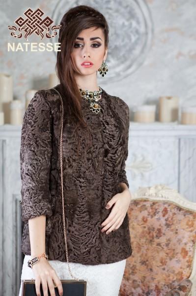 9b9393b5ad6 Persian Lamb Broadtail swakara fur jacket coat 1649 price photo