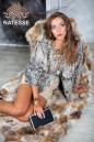 Пиджак из каракульчи цвет антик