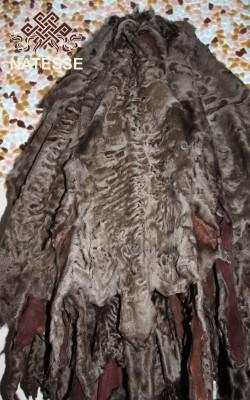 Мех Каракульча свакара оптом купить производитель светло коричневого цвета
