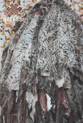 Broadtail fur pelts rare antique color