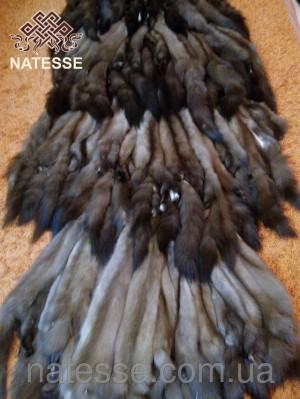 Куница лесная - выделанные шкуры мех, наборы