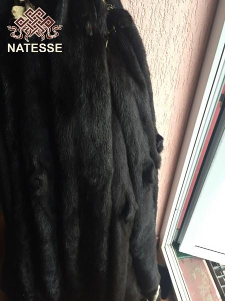 Шкуры мех норки черной Black NAFA