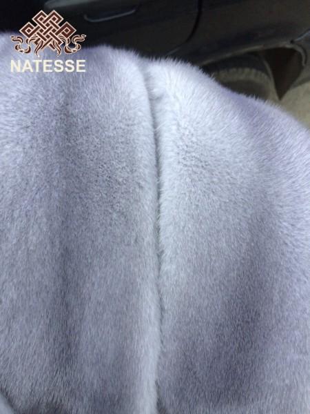 Шкуры мех норки голубая сапфир самцы 75-80 см